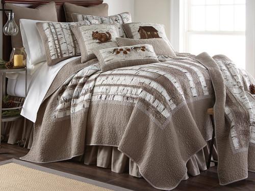 Woodland Birch Quilt Bedding Collection