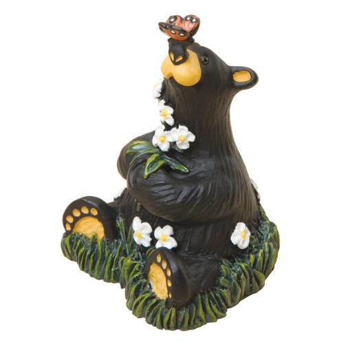 Nature Loving Bear Figurine