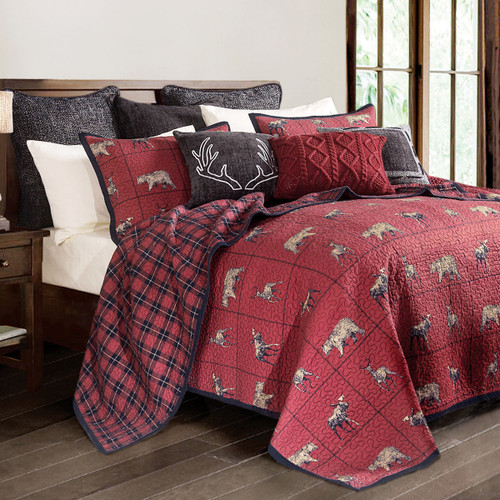 Woodland Plaid Bedding Collection