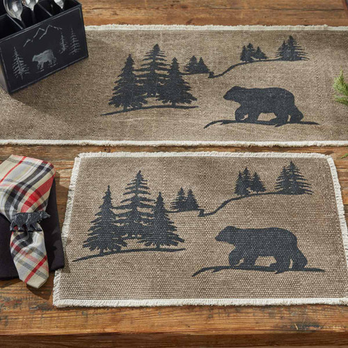 Bear Forest Table Linens