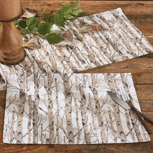 Birch Trees Table Linens