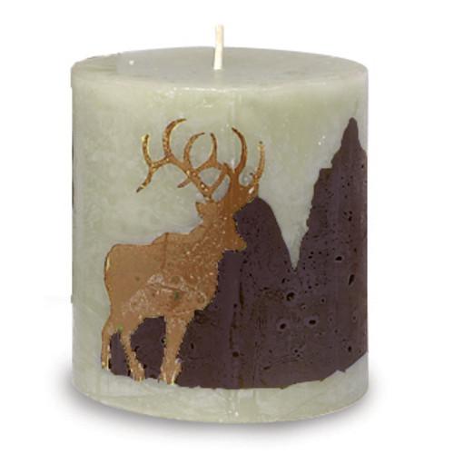 Northern Exposure Elk Candle