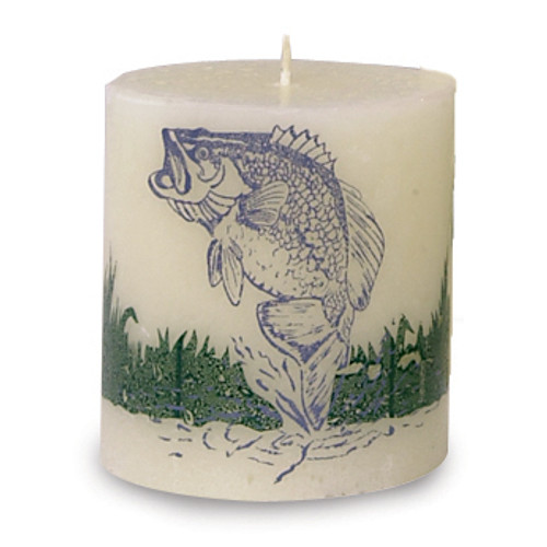 Northern Exposure Fish Candle