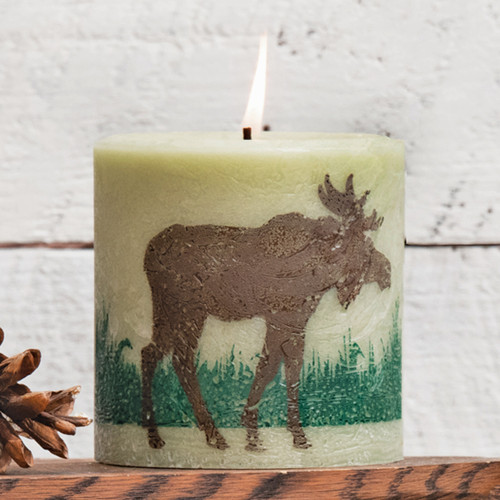 Northern Exposure Moose Candle