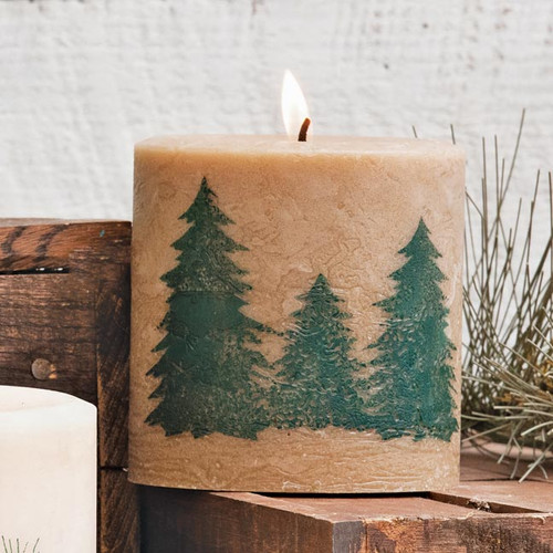 Northern Exposure Tree Candle