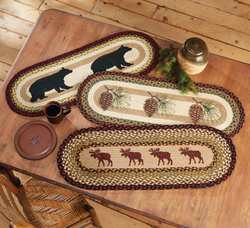 Forest Jute Table Runners