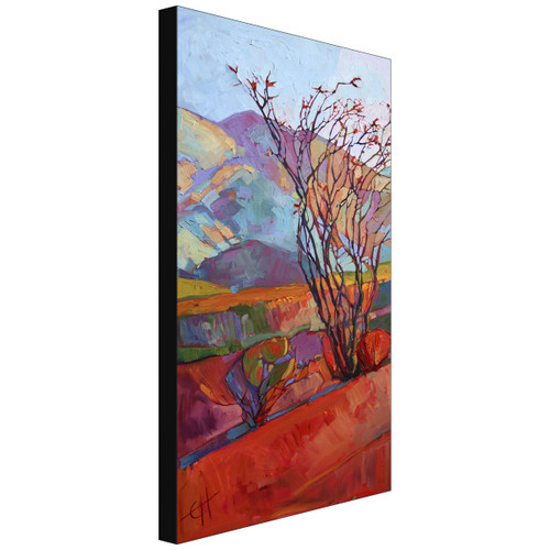 Ocotillo Triptych Left Gallery Wrapped Canvas