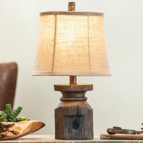 Old Abilene Post Table Lamp - BACKORDERED UNTIL 11/12/2021