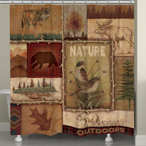 Outdoor Getaway Shower Curtain