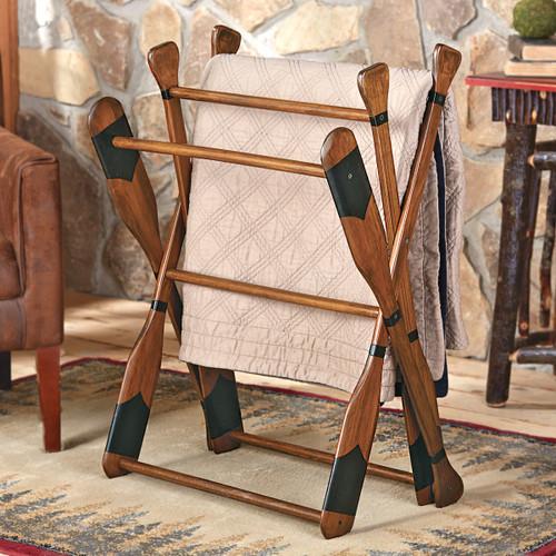 Paddle Blanket/Quilt Rack