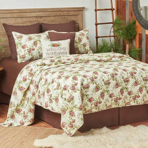 Cooper Pines Twin Quilt Set