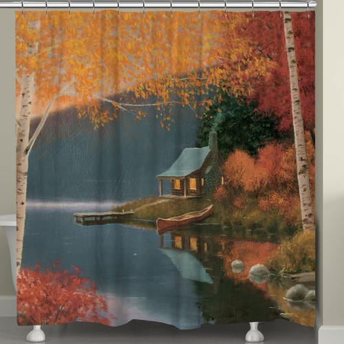 Peaceful Wilderness Shower Curtain