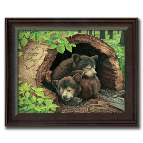 Personalized Bear Cubs Print