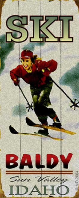 Personalized Ski Sign (Female)