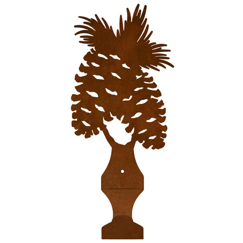 Pine Cone Small Drape Rod Bracket