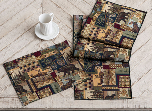 Woodland Cabin Table Linens