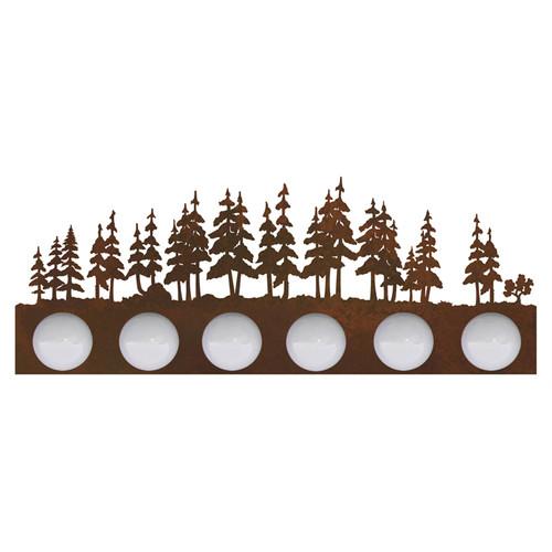 Pine Forest Vanity Light - 6 Light