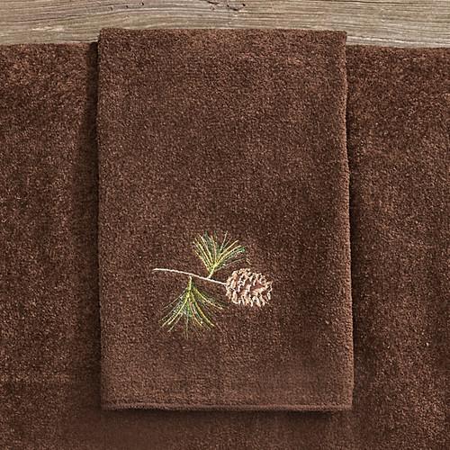 Pine Haven Fingertip Towel