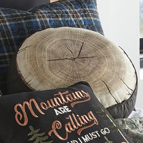 Pine Ridge Bears Tree Ring Pillow