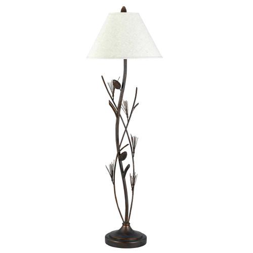 Pine Sprig Climb Floor Lamp