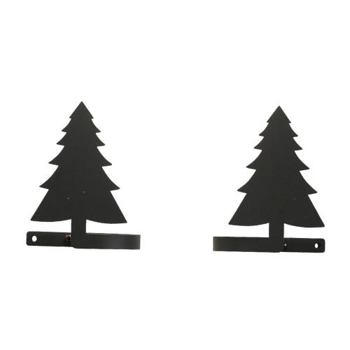 Pine Tree Curtain Tie Backs Pair