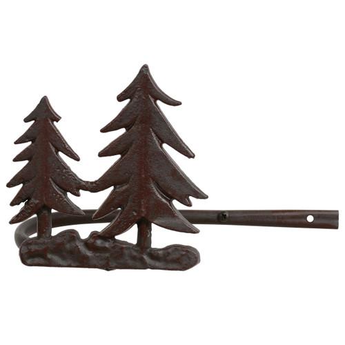 Pine Tree Metal Curtain Tie Backs