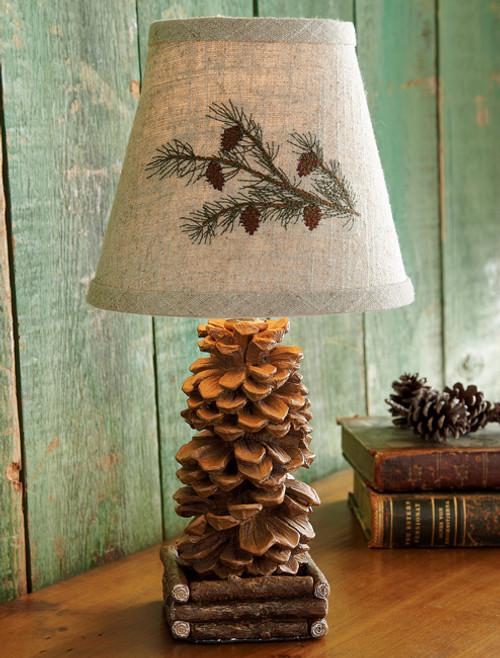 Pinecone Accent Lamp