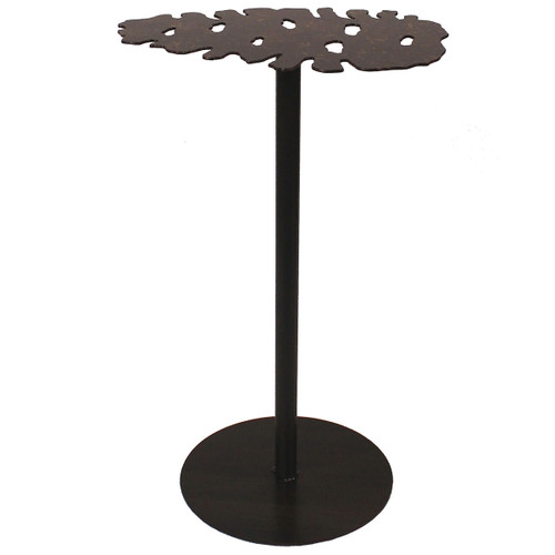 Iron Pine Cone Drink Table