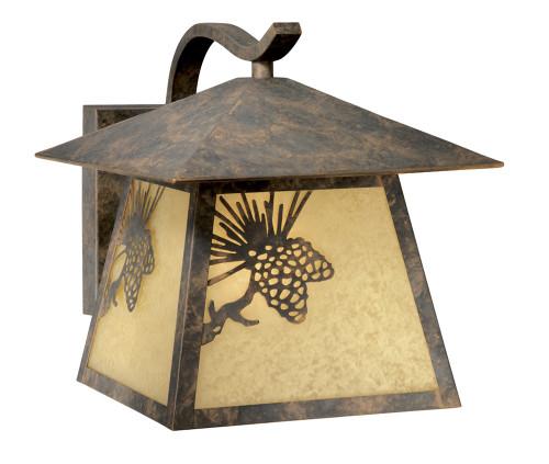 Pinecone Cabin Outdoor Wall Lamp - Medium