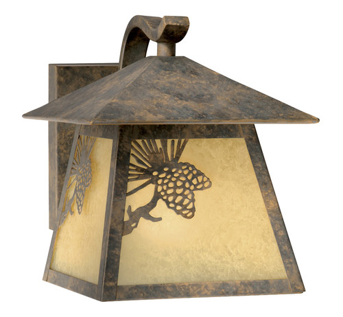 Pinecone Cabin Outdoor Wall Lamp - Small