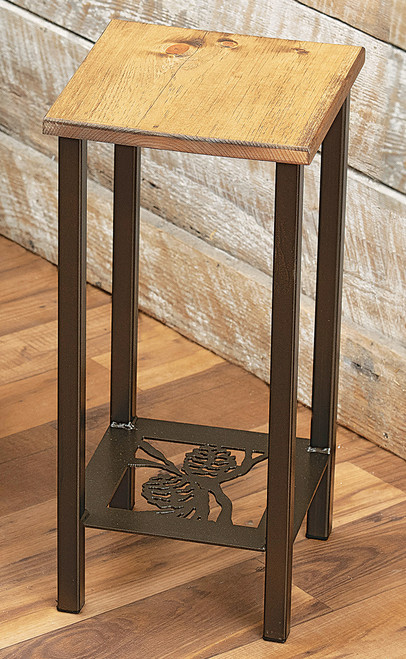 Pinecone Drink Accent Table