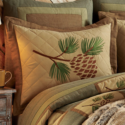 Pinecone Forest King Sham