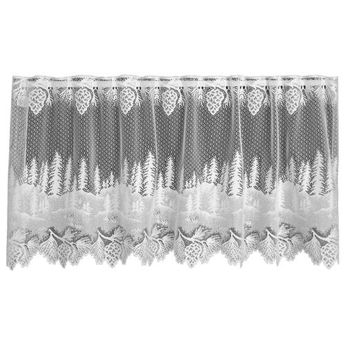 Pinecone Hollow White Window Tier - 60 x 30