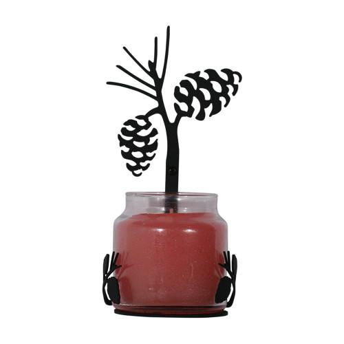 Pinecone Large Jar Sconce