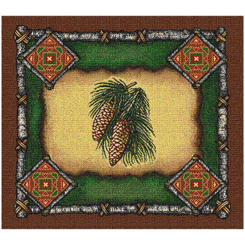 Pinecone Lodge Placemat