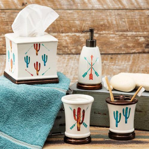 Free Spirit Cactus Bath Accessories