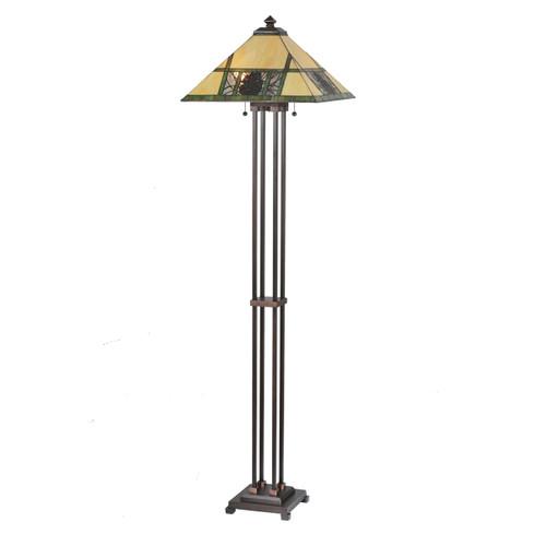 Pinecone Panes Floor Lamp