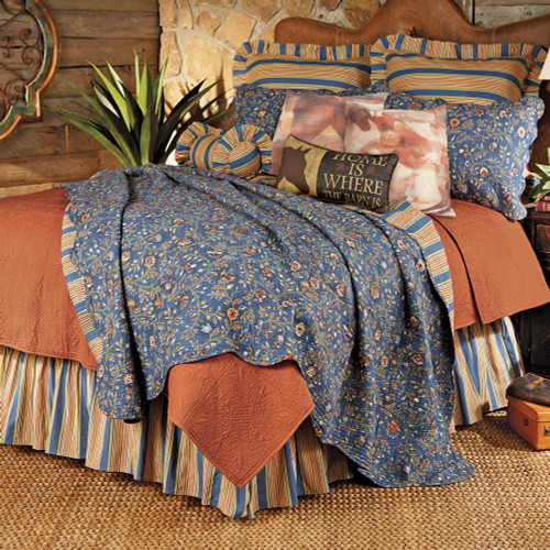 Frontier Flower Quilt Bedding Collection
