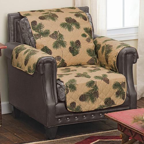 Pinecone Ridge Chair Cover