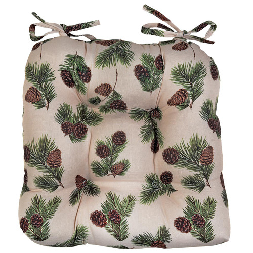 Pinecone Ridge Chair Pad - BACKORDERED UNTIL 9/17/2021