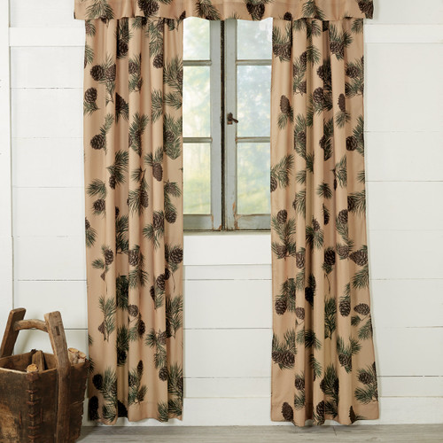 Pinecone Ridge Lined Drapes - BACKORDERED UNTIL 8/20/2021