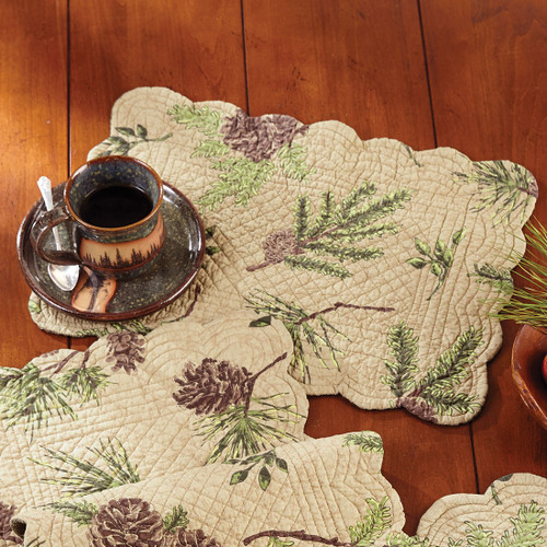 Pinecone Valley Rectangle Placemat