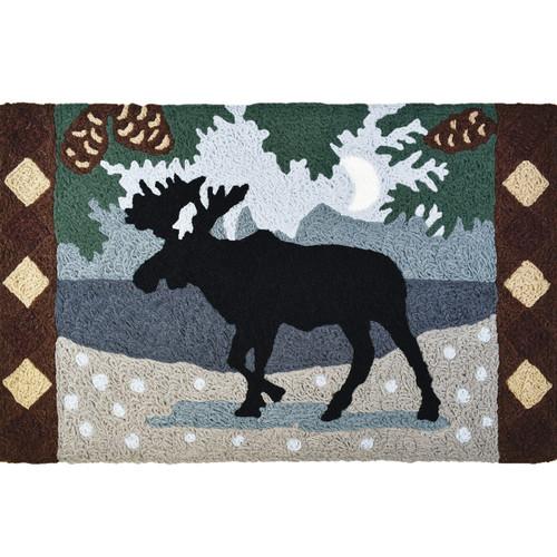 Pinecrest Moose Indoor/Outdoor Rug - BACKORDERED UNTIL 11/18/2021