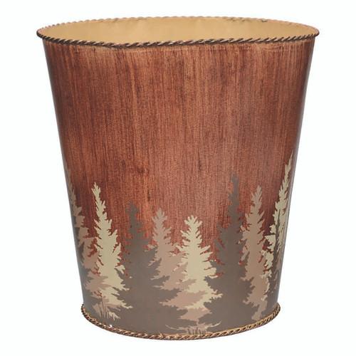 Pinewood Forest Waste Basket