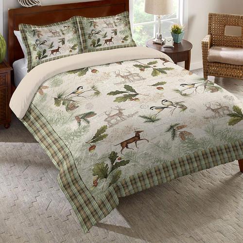 Placid Forest Comforter - Queen