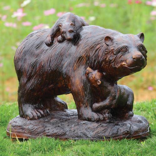 Playtime Bear Garden Sculpture