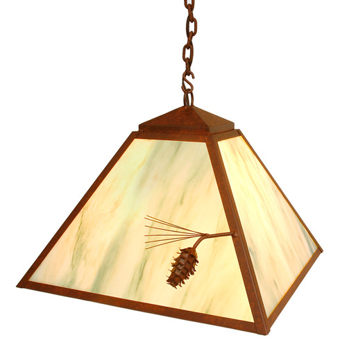 Ponderosa Pine Swag Light