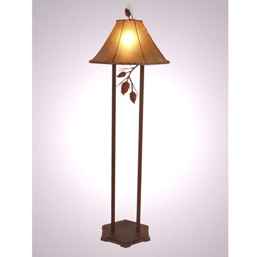 Ponderosa Pine Floor Lamp