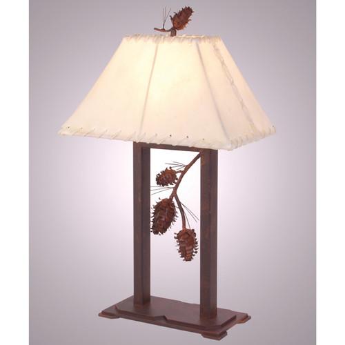 Ponderosa Pine Table Lamp