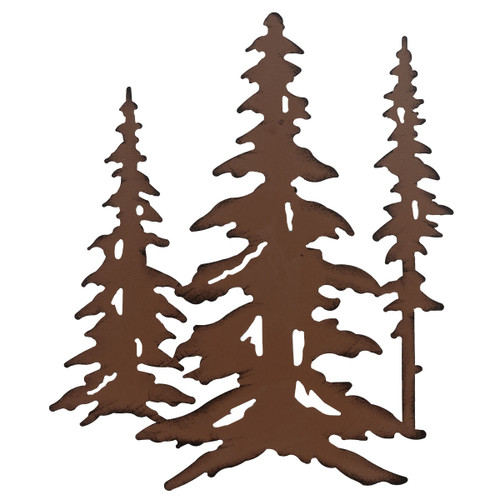Ponderosa Triple Pine Wall Art